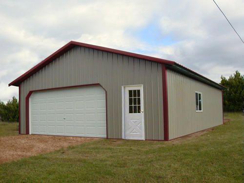 62 best garage house images on pinterest garage house for Pole barn specs