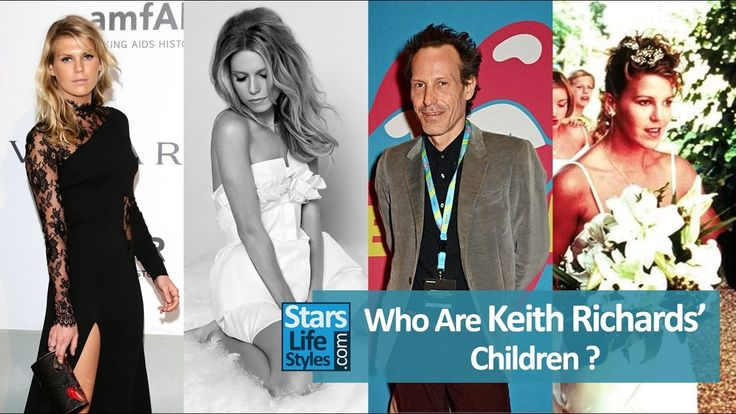 Who Are Keith Richards' Children ? [3 Daughters And 2 Sons]