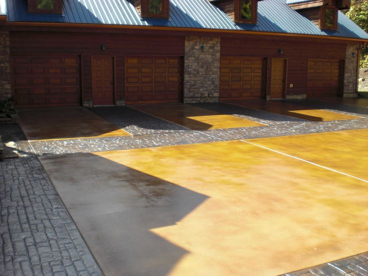 101 best images about stamped concrete on pinterest for Semi concrete house