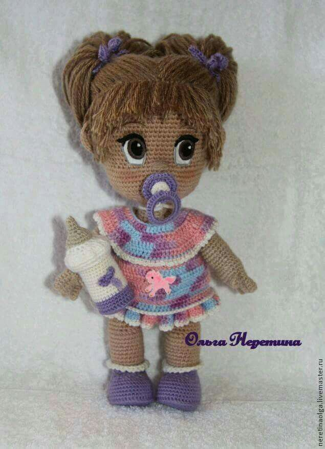 Hair For Amigurumi Doll : 4951 best images about AMIGURUMI FASHION on Pinterest ...