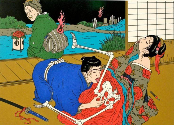 Toshio Saeki Dzika Banda 01