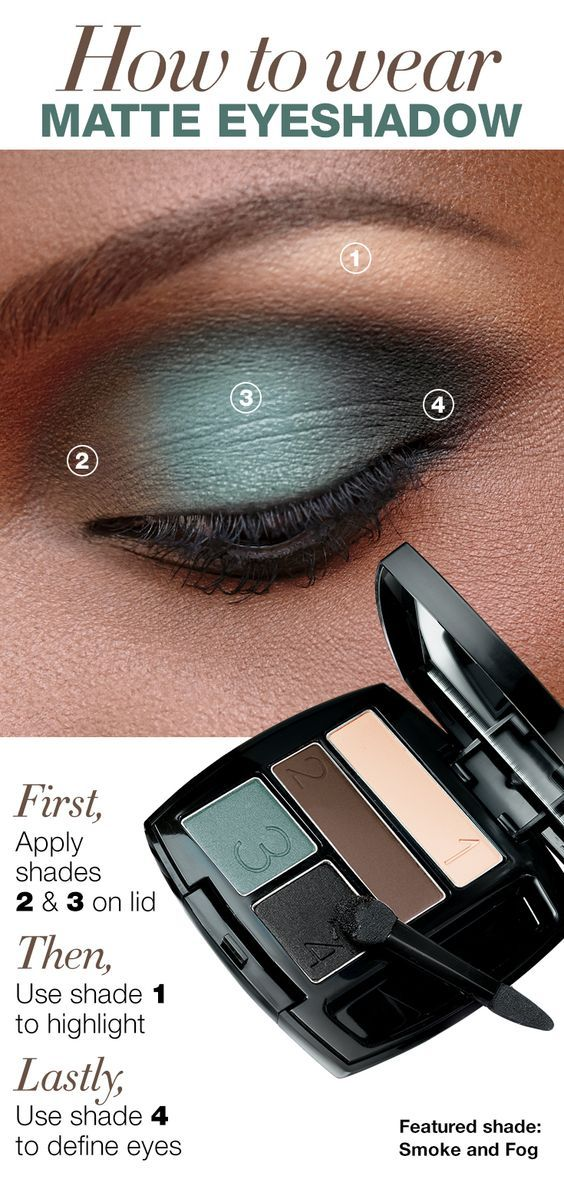 Learn the right way to wear matte eyeshadow with the True Color Matte Eyeshadow Quad! Get your color here: www.youravon.com/denisehatcher