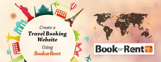 Create a Travel Booking Website using BookorRent - An exceptional #Booking and #Rentalsoftware  http://goo.gl/oaQa9z