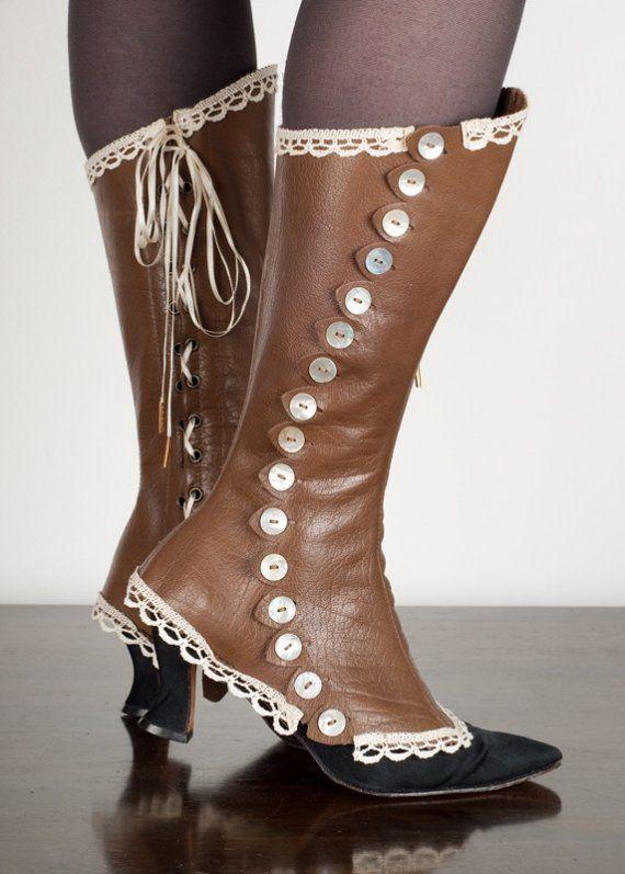 steampunk spats