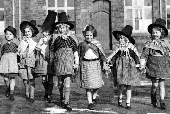St David's Day - vintage. #wales #cymru