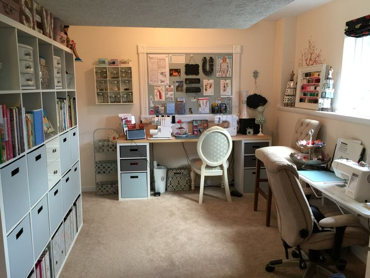 It seems like my sewing room is always a work in progress and somehow that's ok with me.