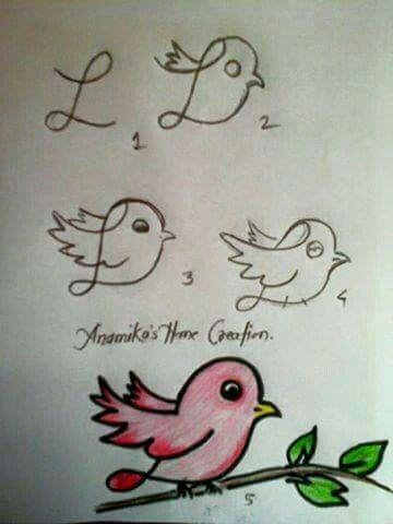 Oiseau dessin