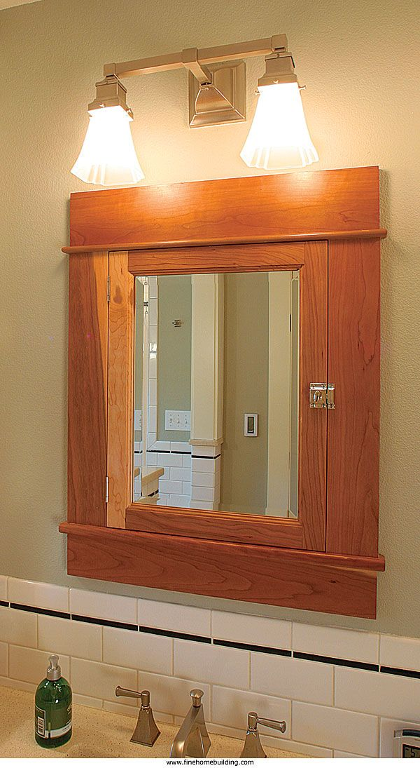 Craftsman Style Bathroom Wall Cabinets : Best images about craftsman bathroom on