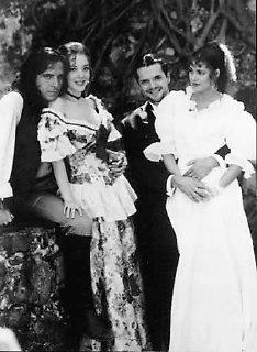 Foto de Juan, Mónica, Andrés y Aimée.