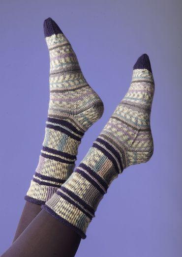 Band sokken door Charles D. Gandy |  Schachenmayr