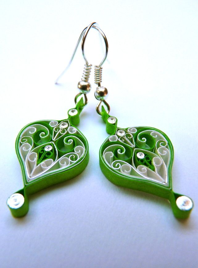 Quilling Patterns Quilled Earrings Design Pictures Projects to Try Pinterest Quilling ...
