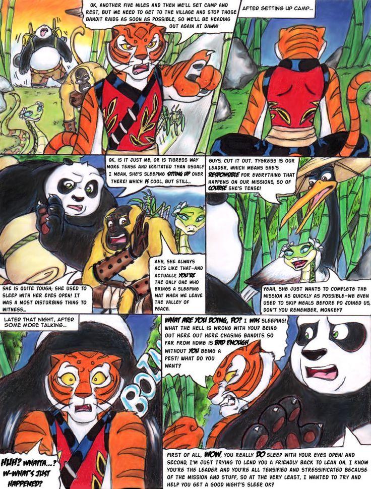 порно комиксы про кунфу панда
