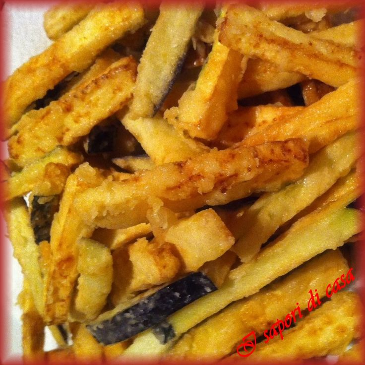 Verdure pastellate fritte