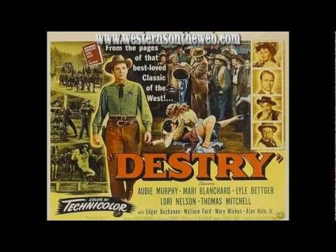 Destry Audie Murphy Full Length Western Movie Youtube