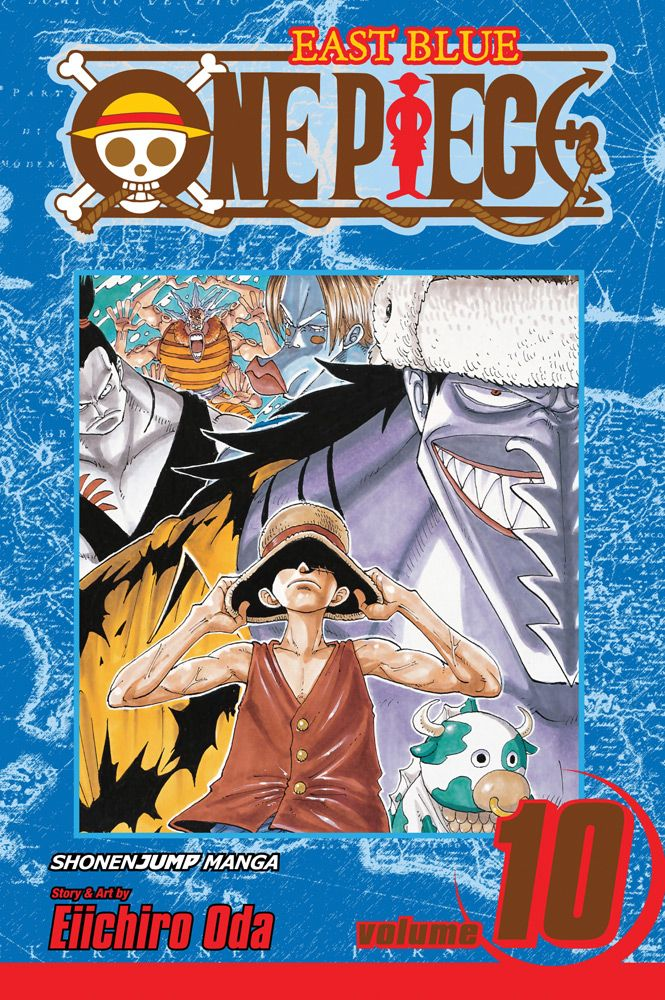 One Piece Graphic Novel 10 Ok Let S Stand Up East Blue Roronoa Zoro Chibi Luffy