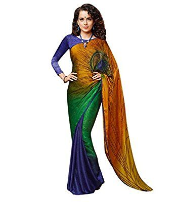 Z Fashion Silk Saree (Seemo_Saree 28_Multi-Coloured)