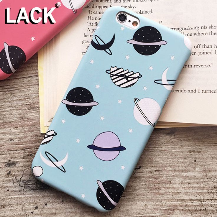 Cartoon Airship Stars Frosted Case For iphone 5S Case For iphone 5 5S 6 6S Plus Hard Cover Universe Series Phone Cases Capa NEW! <3 Click the image to find out more