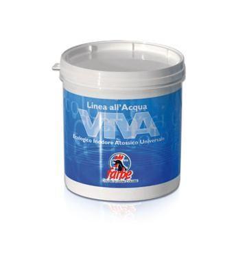 VIVA SMALTO è uno smalto poliuretanico-acrilico all'acqua di elevata qualità, dilatazione ed alta resa. Il prodotto è caratterizzato da un bassissimo impatto ambientale in quanto utilizza come solvente principale l'acqua