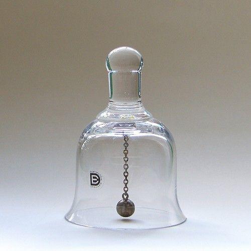 S Frank Thrower Dartington Glass Goblet