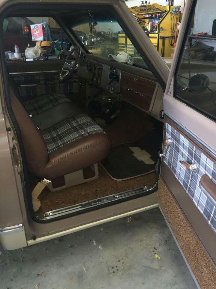 67 72 Chevy C10 Truck Interior 176 176 ☆67 72 Trucks☆ D