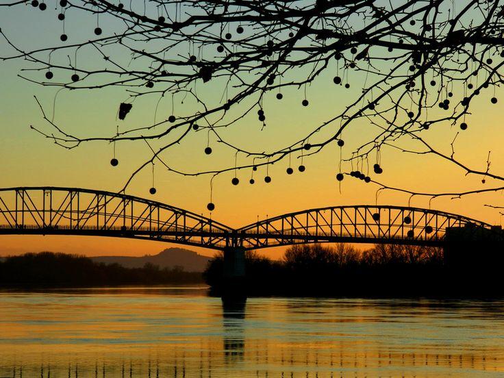 Photo Golden sunset in Esztergom by Galambos Melinda on 500px