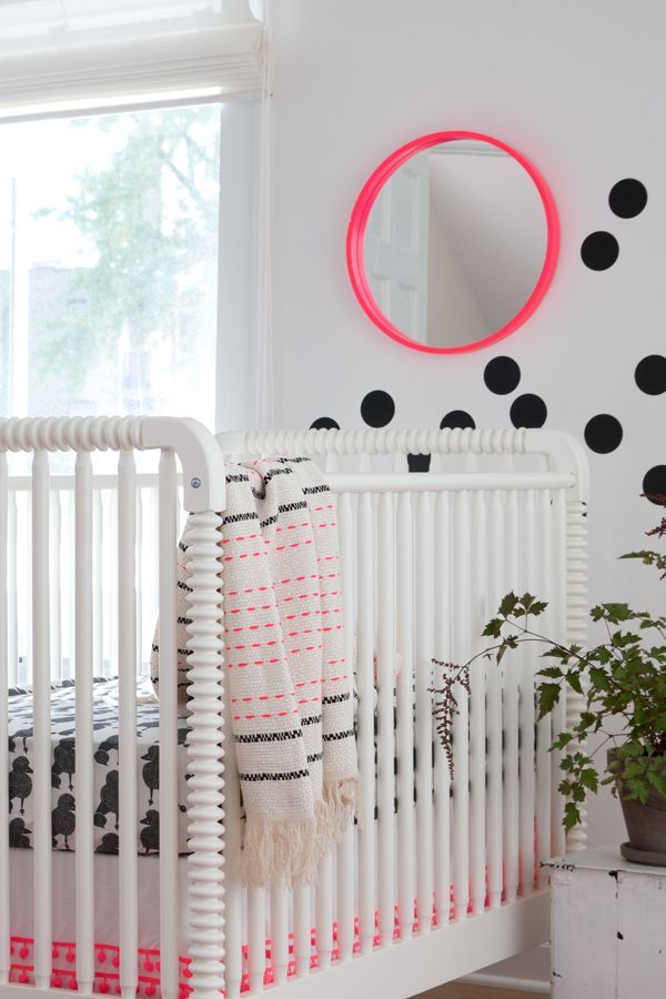 neon colors in the nursery