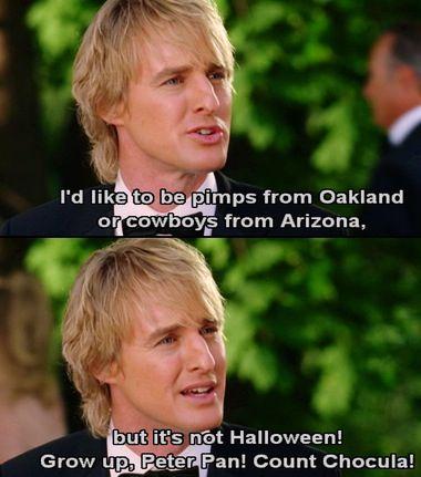 Wedding Crashers...this movie is hilarious!!!!