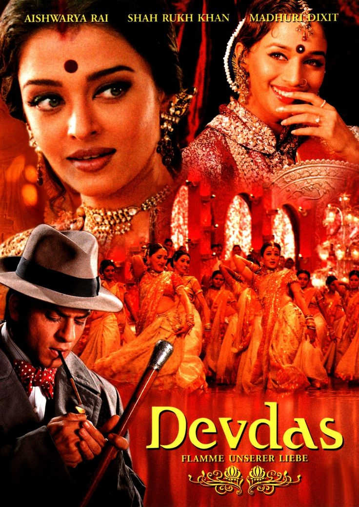 """DEVDAS"" (2002) Director: Sanjay Leela Bhansali.// After his wealthy family prohibits him from marrying the woman he is in love with, Devdas Mukherjee's life spirals further and further out of control as he takes up alcohol and a life of vice to numb the pain. // Stars: Shah Rukh Khan, Madhuri Dixit, Aishwarya Rai Bachchan"