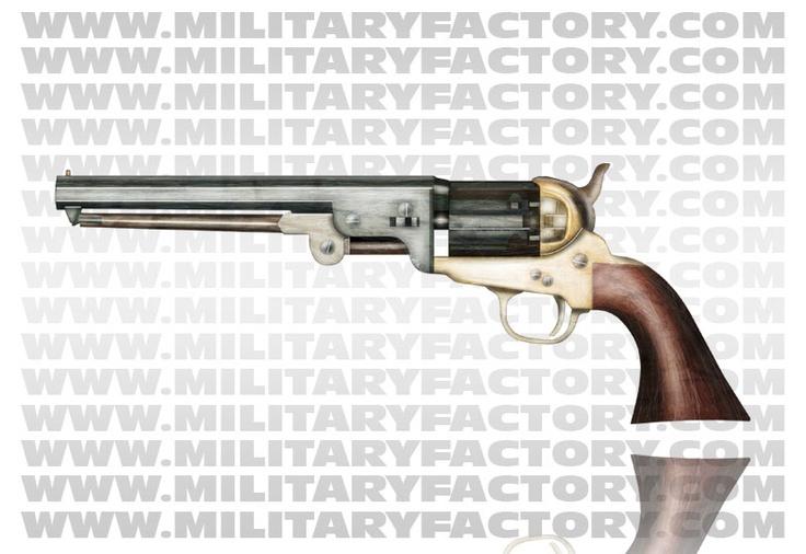 Colt Model 1851 Navy: Civil War, Revolver