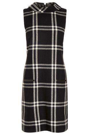 Buy Black Check Dress from the Next UK online shop