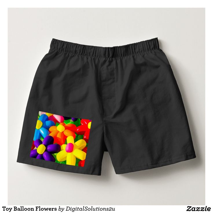Toy Balloon Flowers Boxers