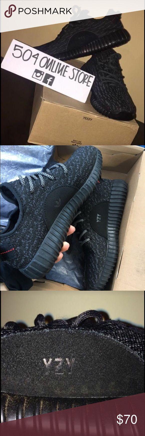 adidas yeezy boost 350 black ebay adidas yeezy black sole ffxi