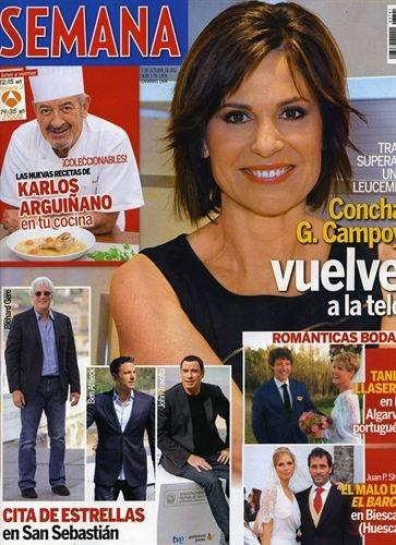 """Revistas del Corazón: Las portadas de la semana - Jueves, 27 de septiembre > """"Semana"""""""