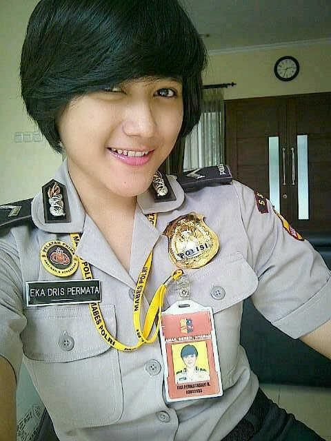 Eka Permatasari    #Polwan #cantik #Polisi #Indonesia