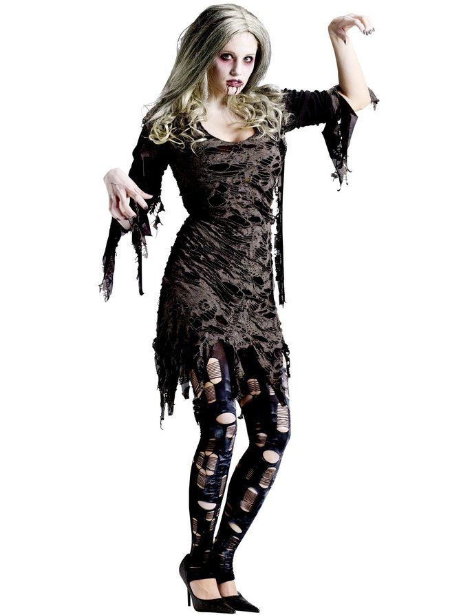 Living Dead Adult Costume - Wholesale Zombies Costumes for Women