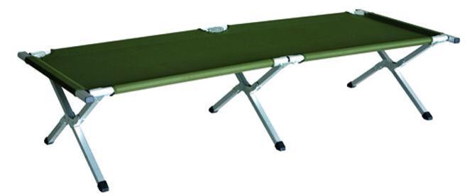 Stretcher from Kathmandu. Comfy, fold away to nothing and great for having lots of guests to stay
