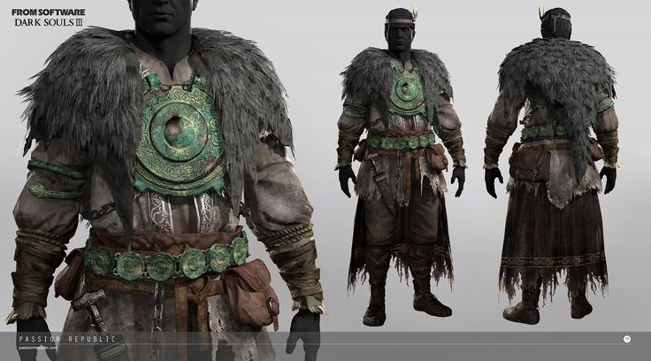 This is the starting armor set for the pyromancer class in Dark Souls 3. A great…