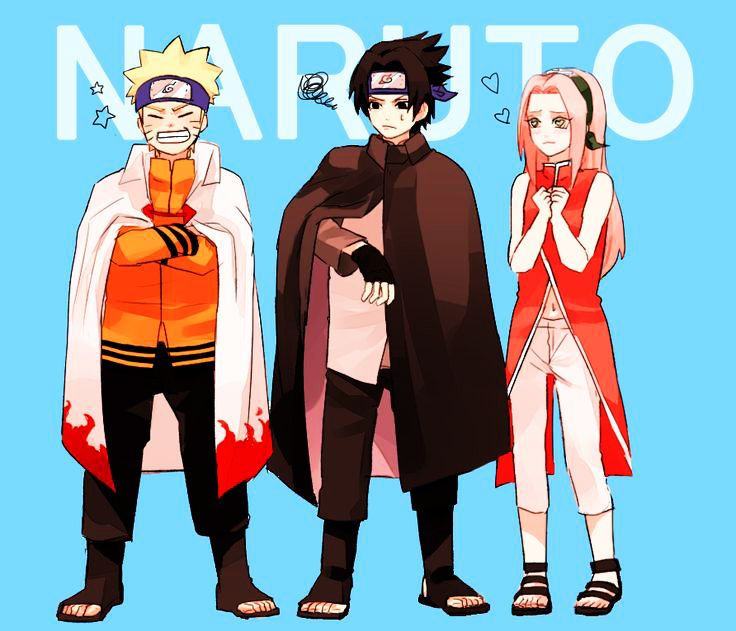 Naruto Gaiden: Kid Selves Wearing Adult Clothes