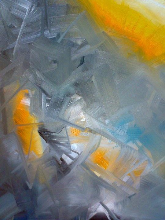 Sunrise  2008  50*70  oil on canvas