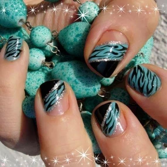 wonderful easy nail art designs 2014  | See more nail designs at http://www.nailsss.com/french-nails/2/