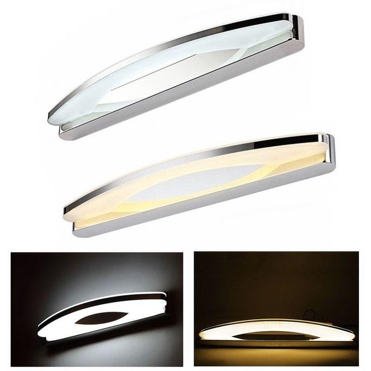 8W - 15W LED Badleuchte Spiegellampe Spiegelleuchte Wandleuchte Badezimmer Lampe | Möbel & Wohnen, Beleuchtung, Wandleuchten | eBay!