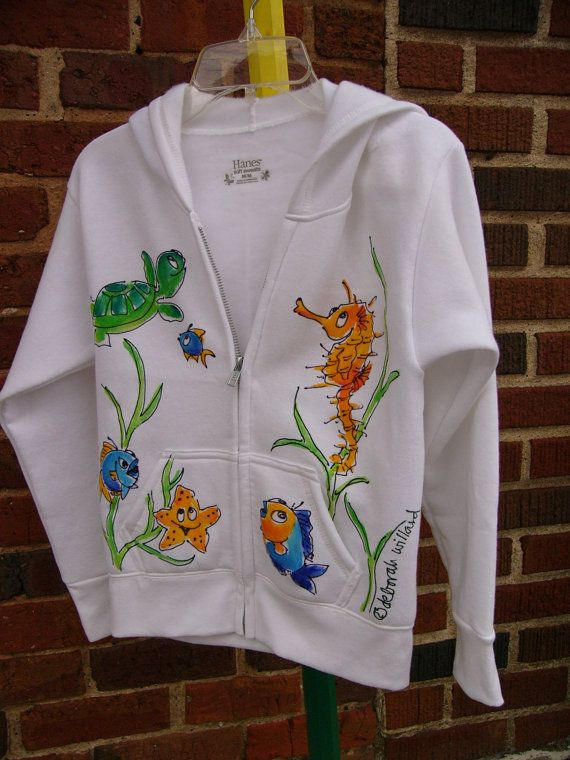 Brand-new 31 best Hand Painted Hoodies and Sweatshirts images on Pinterest  IY18