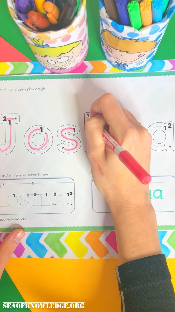 Fullproof editable name tracing activities for