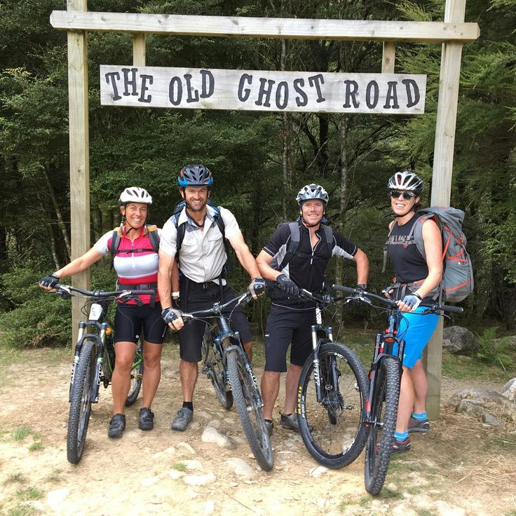 Some of the team of Hiking New Zealand swapped their hiking boots for mountain bikes this weekend and hit up The Old Ghost Road!