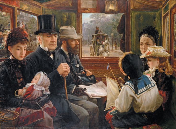 by alfred morgan  an omnibus ride to piccadilly. mr gladstone rides with ordinary passengers.