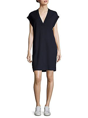 ATM Anthony Thomas Melillo Pique Solid Dress