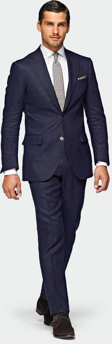 Perfect linen suit for summer
