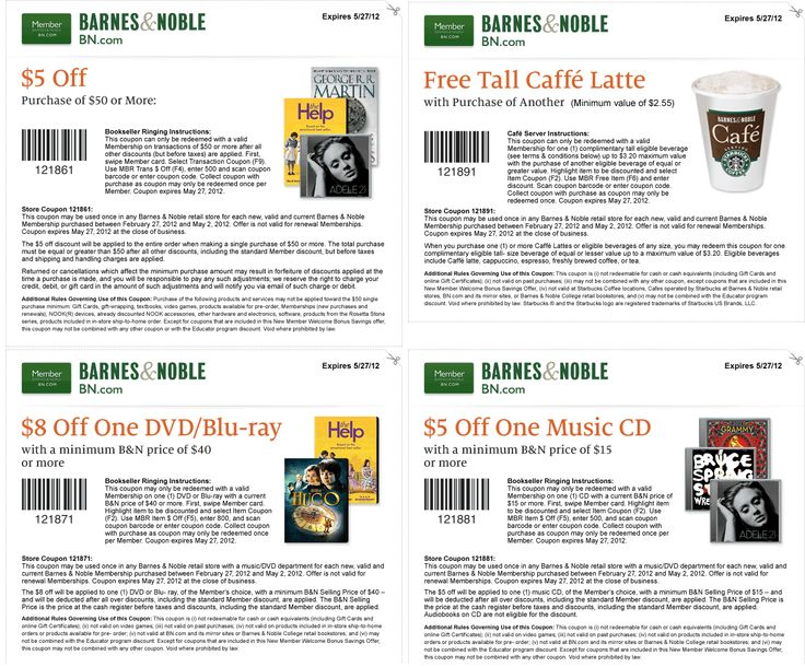 8 best coupons and good deals images on pinterest printable barnes noble coupon barnes noble promo code from the coupons app second latte coffee free and more at barnes noble bookstore january fandeluxe Choice Image