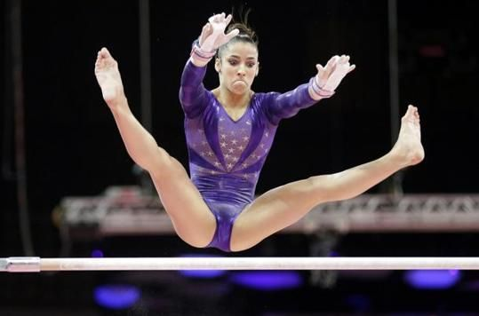 why are female gymnasts so hot