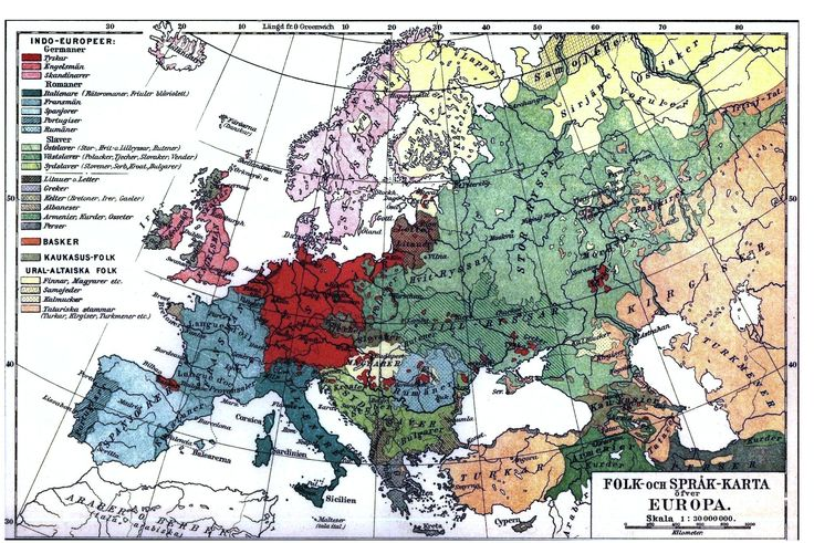 geopolitical map europe linguistic map of europe 1907
